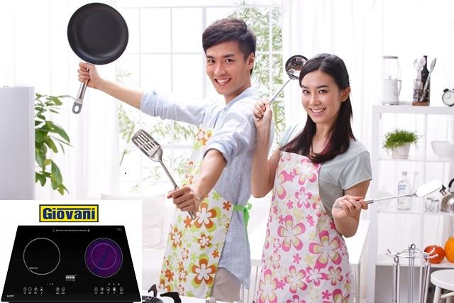 Lý do bạn nên sử dụng bếp điện từ Giovani