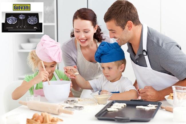 Những tính năng cao cấp của bếp ga Giovani G 307SB làm xiêu lòng chị em nội trợ