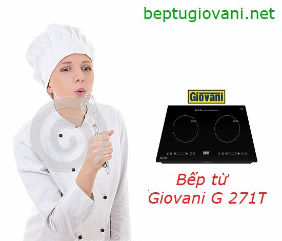 5 tính năng độc đáo của bếp từ Giovani G 272T