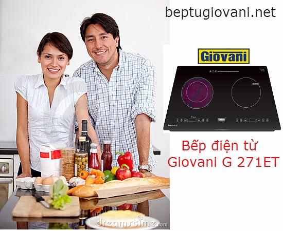 Bếp điện từ Giovani G 271ET: Ấn tượng với thiết kế tuyệt đẹp