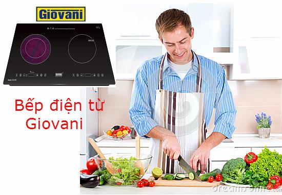 Bếp điện từ Giovani mang lại trải nghiệm hoàn toàn mới cho người dùng