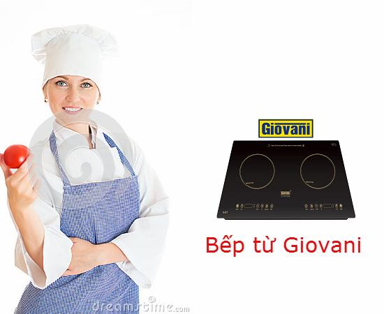 Bếp từ Giovani và những tiện ích thú vị cho người dùng