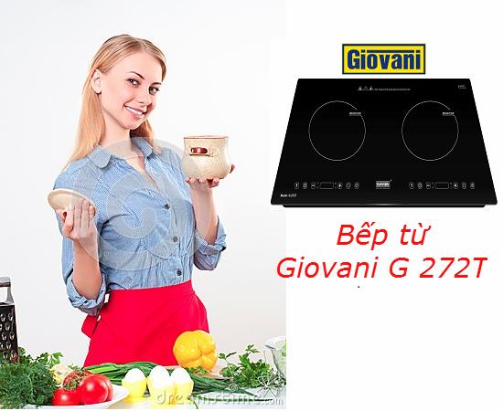 Bếp từ Giovani G 272T: Tuyệt tác về thiết kế và công nghệ