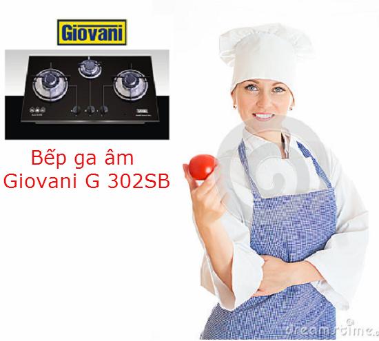 Bếp ga Giovani G 302SB là sản phẩm được người tiêu dùng ưa chuộng nhất trong nhiều năm gần đây. Bề ngoài không bóng bẩy, không cầu kỳ, chỉ với thiết kế hết sức đơn giản cùng nhiều tính năng độc đáo, bếp ga Giovani G 302SB đã mang lại nhiều tiện ích tuyệt đỉnh cho người sử dụng