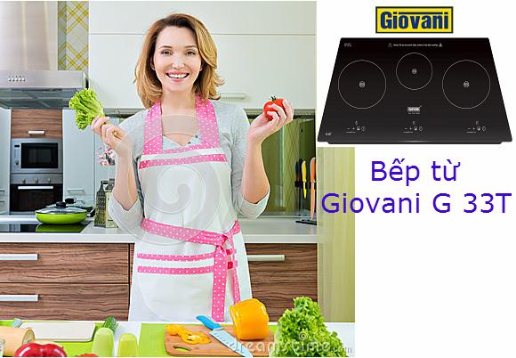 Đánh giá những tính năng nổi trội của bếp từ Giovani G 33T