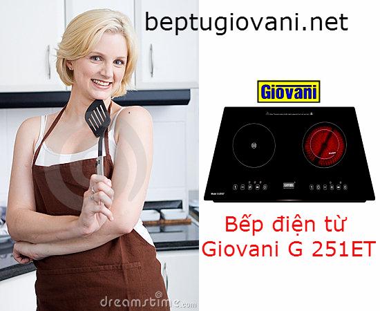 Đánh giá toàn diện các ưu điểm nổi bật của bếp điện từ Giovani G 251ET