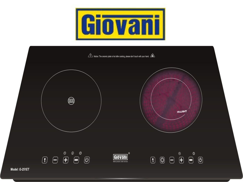 Biến không gian bếp trở thành thiên đường nhờ bếp điện từ Giovani G 251ET