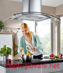 Máy hút mùi Giovani thêm điểm nhấn trong gian bếp của gia đình