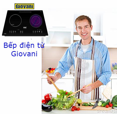 Bếp điện từ Giovani: Lựa chọn số 1 của các gia đình