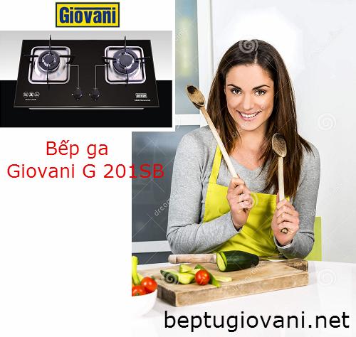 Bếp ga Giovani G 201SB và những ưu điểm không thể bỏ qua