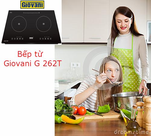 Bếp từ Giovani G 262T: Đánh thức niềm đam mê nội trợ