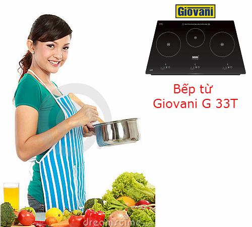 Bếp từ Giovani G 33T: Luôn đồng hành cùng người nội trợ