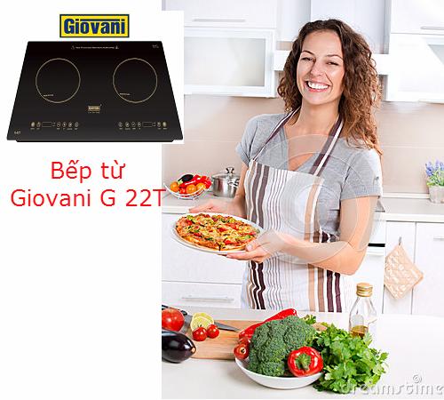 Bếp từ Giovani G 22T: Luôn đồng hành cùng người nội trợ