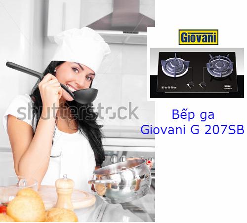 Khám phá những tính năng tuyệt đỉnh của bếp ga Giovani G 207SB
