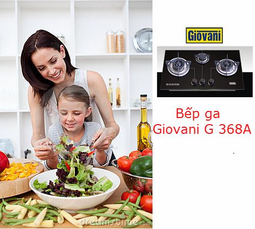 Lý do bạn nên sử dụng bếp ga Giovani G 368A