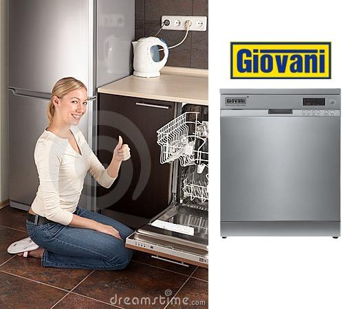 Máy rửa bát Giovani GDW F361S và những tiện ích độc đáo cho người dùng