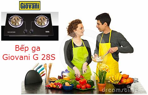 Thỏa sức sáng tạo các món ăn với bếp ga Giovani G 28S