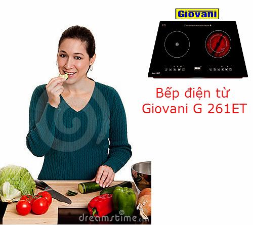 Bếp điện từ Giovani G 261ET: Lựa chọn số 1 của người nội trợ thông minh