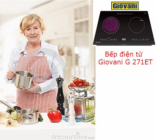 Những ưu điểm hoàn hảo của bếp điện từ Giovani G 271ET