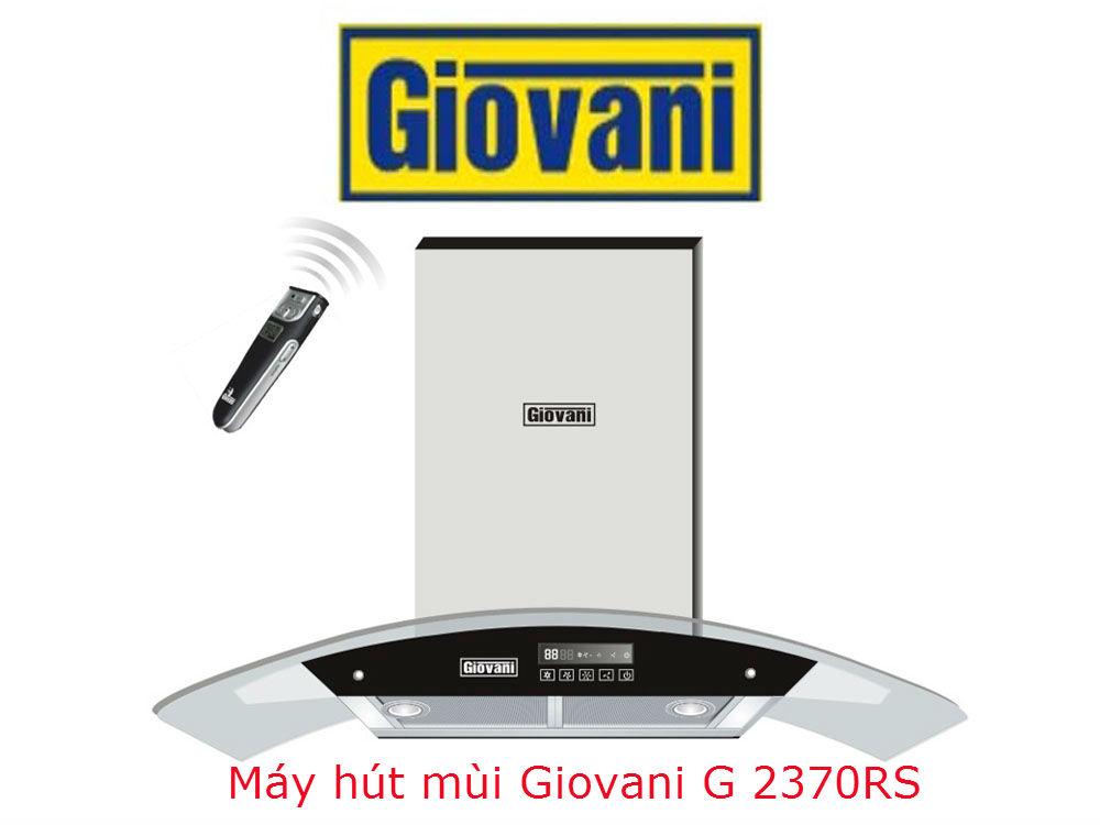 Tạo không gian mới trong phòng bếp với máy hút mùi Giovani G 2370RS
