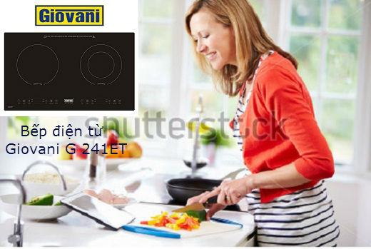 Bếp điện từ Giovani G 241ET: Lựa chọn tốt nhất dành cho không gian bếp