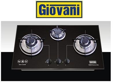 Bếp ga Giovani G 302SB: Trải nghiệm đun nấu hoàn toàn mới