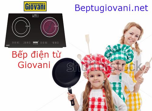 Cùng thắp lửa cho gian bếp yêu thương với bếp điện từ Giovani G 281ET