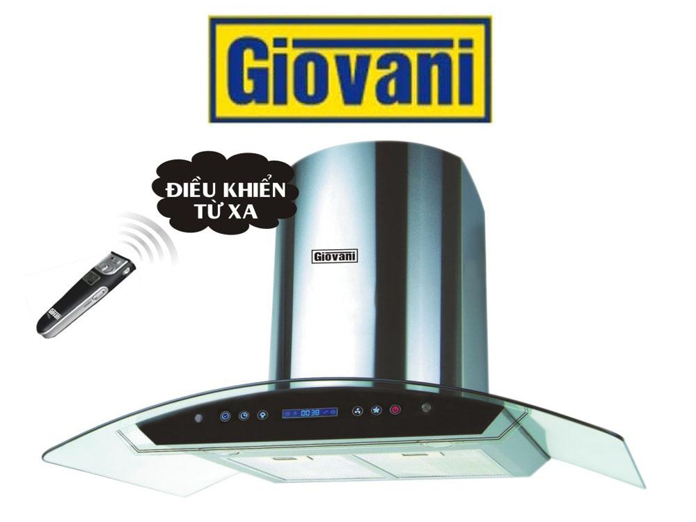 Máy hút mùi Giovani G 9430RST tôn vinh vẻ đẹp của gian bếp hiện đại