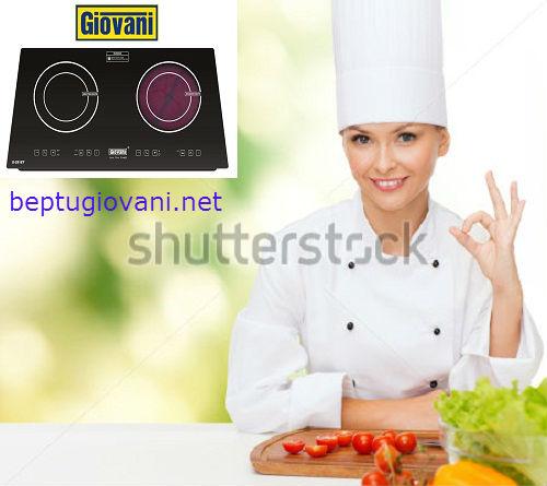Một số lưu ý khi sử dụng bếp điện từ Giovani