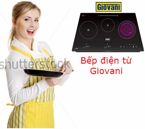 Bếp điện từ Giovani: