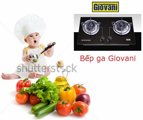 Vệ sinh mặt bếp ga Giovani siêu nhanh