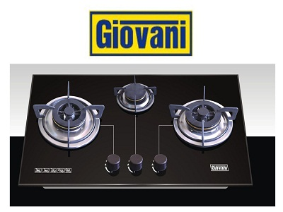Bếp ga âm Giovani G 368A: Chiếm trọn trái tim người tiêu dùng