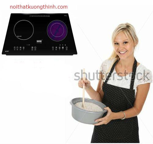 Những thắc mắc thường gặp về bếp điện từ