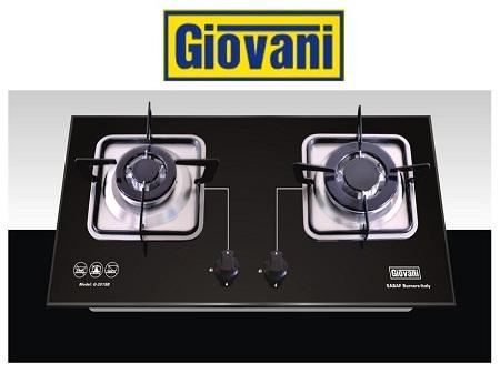 Đánh giá chi tiết bếp ga Giovani G 201SB
