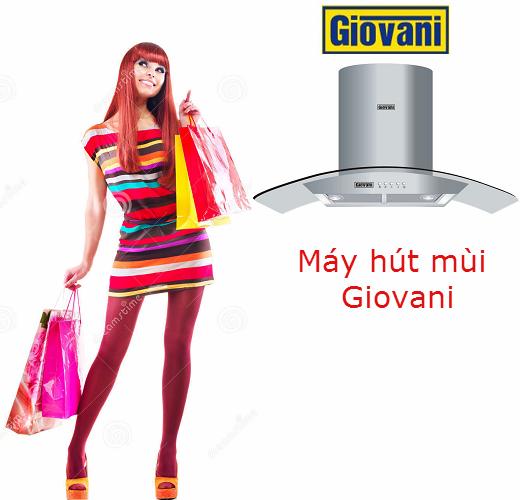 Mua máy hút mùi Giovani ở đâu uy tín?