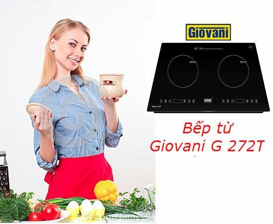 Những tính năng hữu ích trên bếp từ Giovani G 272T