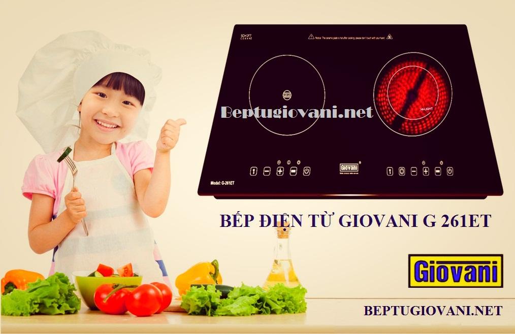 Bếp điện từ Giovani G 261ET thực sự rất tốt