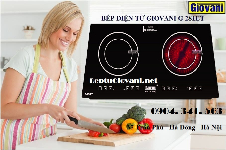 Bếp điện từ Giovani G 281ET dùng tốt