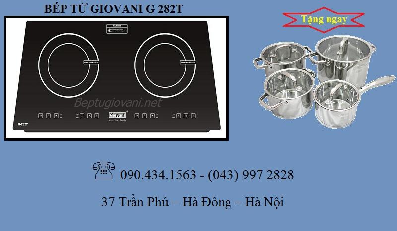 Xuất xứ của bếp từ giovani G 282T