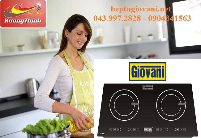 Tìm hiểu về bếp từ Giovani chính hãng hiện nay