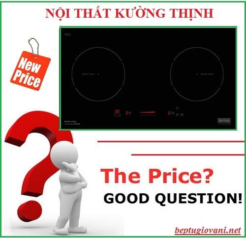 Bếp từ Giovani G 270SD có giá bán bao nhiêu?