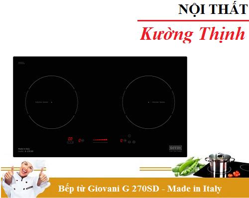 Bếp từ Giovani G 270SD có tốt không?
