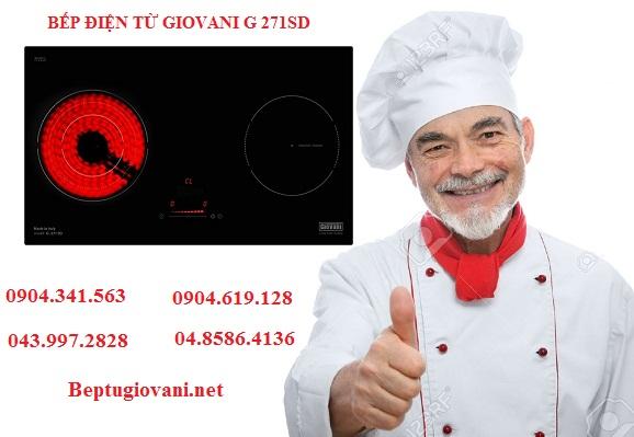 Có nên dùng bếp điện từ Giovani G 271SD không