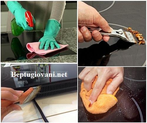 Hướng dẫn cách vệ sinh bếp điện từ Giovani G 271SD đúng cách