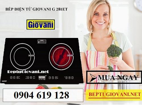 Ưu nhược điểm của bếp điện từ Giovani G 281ET