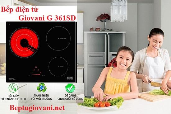 Bếp điện từ Giovani G 361SD có xuất xứ ở đâu