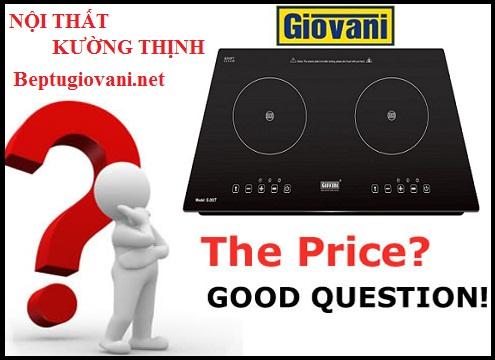 Bếp từ Giovani G 262T có giá bán bao nhiêu