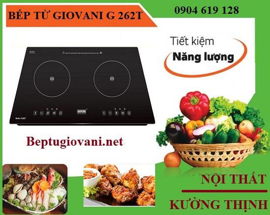 Bếp từ Giovani G 262T dùng có tốn điện không