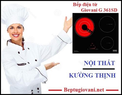 Có nên mua bếp điện từ Giovani G 361SD không