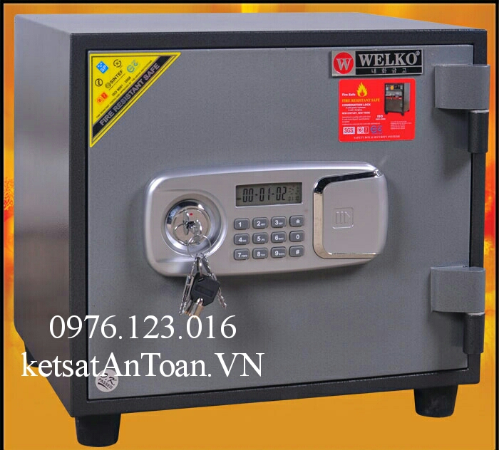 két sắt mini kcc45 điện tử